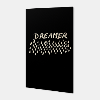 Thumbnail image of DREAMER #1 #typo #drawing #decor #art  Canvas, Live Heroes
