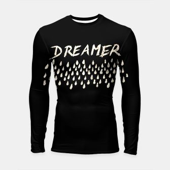 Thumbnail image of DREAMER #1 #typo #drawing #decor #art  Longsleeve rashguard, Live Heroes
