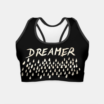 Thumbnail image of DREAMER #1 #typo #drawing #decor #art  Crop Top, Live Heroes