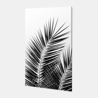 Thumbnail image of Black Palm Leaves Dream - Cali Summer Vibes #1 #tropical #decor #art  Canvas, Live Heroes