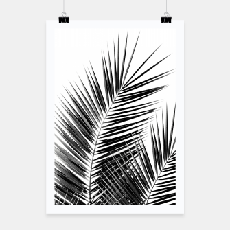 Thumbnail image of Black Palm Leaves Dream - Cali Summer Vibes #1 #tropical #decor #art  Plakat, Live Heroes