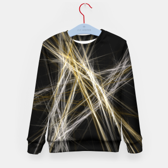 Thumbnail image of Abstract 1 - Gold & Silver Kindersweatshirt, Live Heroes