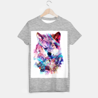 Wolf T-shirt regular miniature