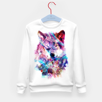 Wolf Kid's sweater miniature