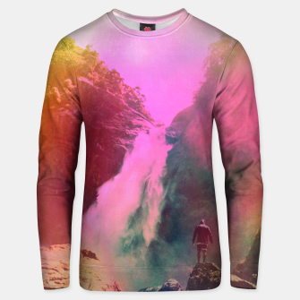 Thumbnail image of Thin Ripple Cascade Unisex sweater, Live Heroes