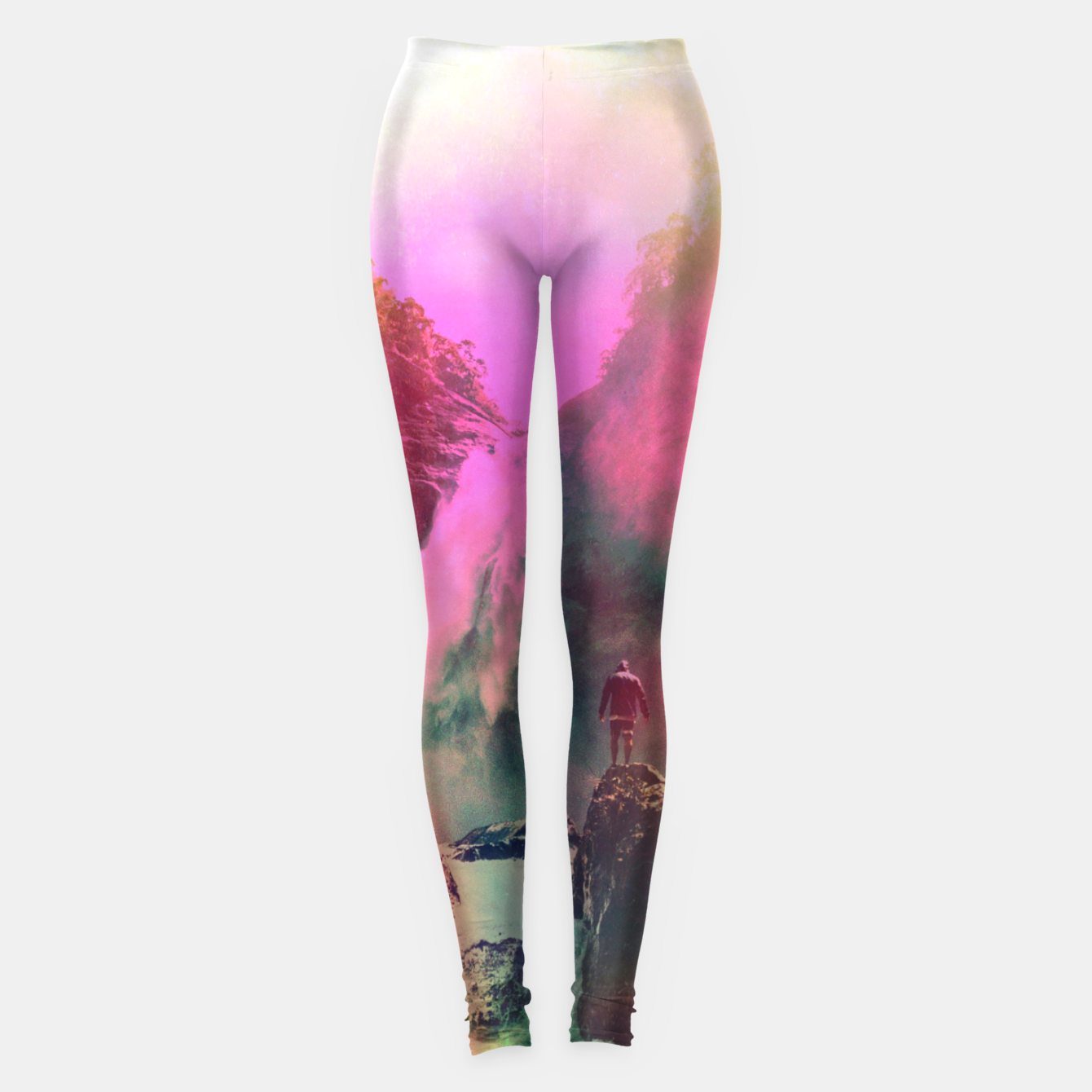 Foto Thin Ripple Cascade Leggings - Live Heroes