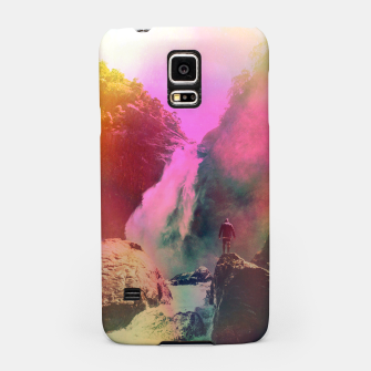 Thumbnail image of Thin Ripple Cascade Samsung Case, Live Heroes