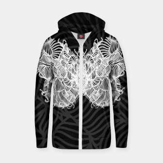 Thumbnail image of heart Zip up hoodie, Live Heroes