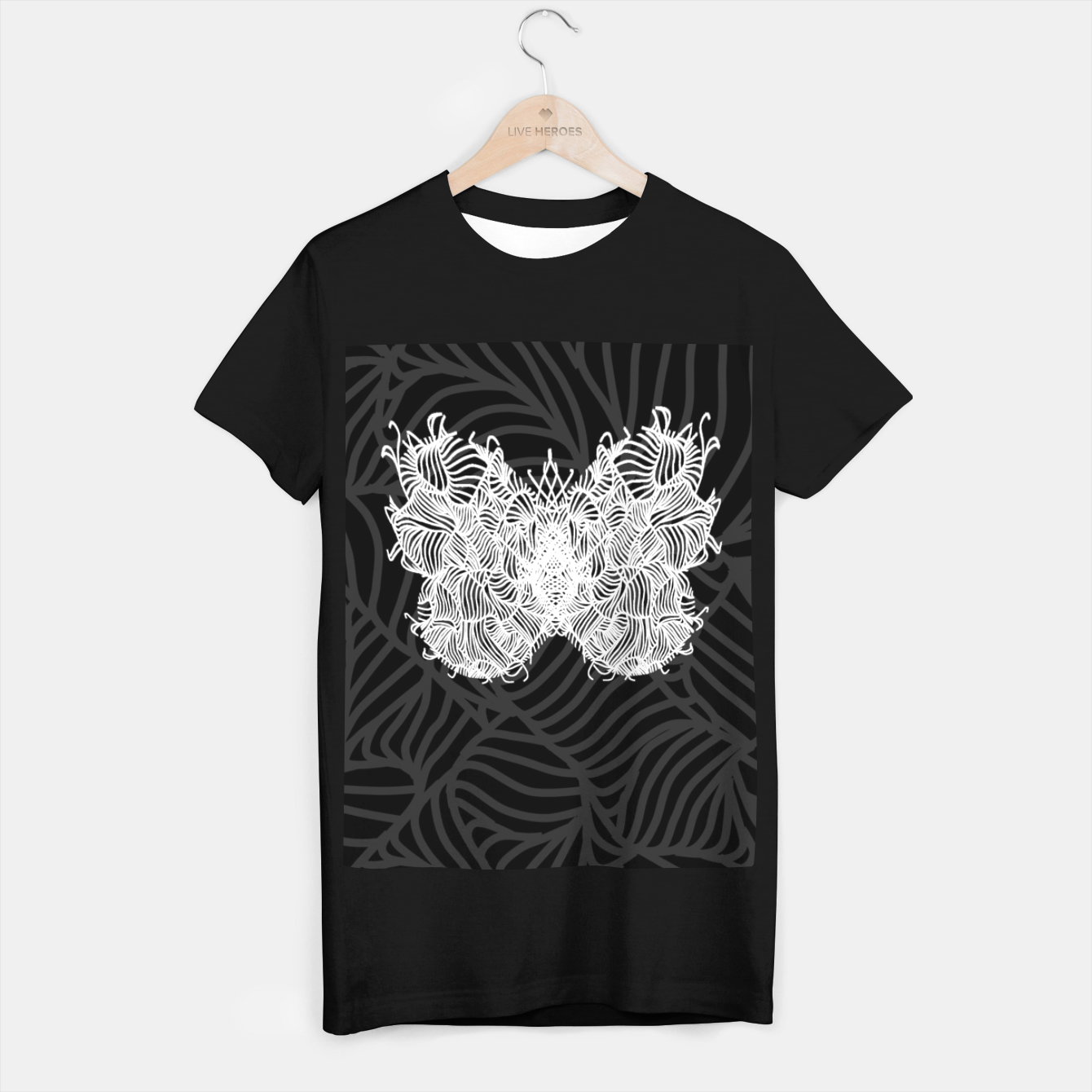 Image of heart T-shirt regular - Live Heroes