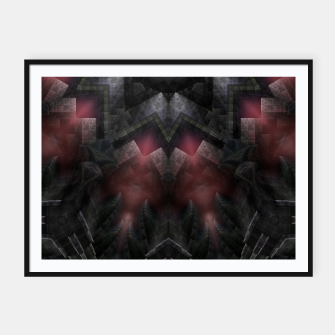 Thumbnail image of T-ROS M4180 Framed poster, Live Heroes