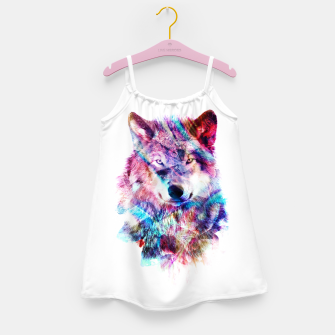 Wolf Girl's dress miniature