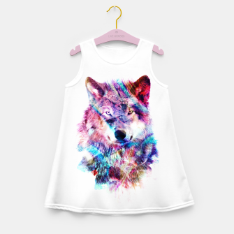 Wolf Girl's summer dress miniature