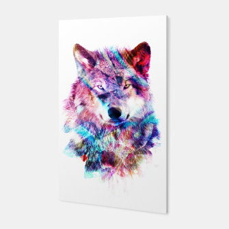 Wolf Canvas miniature