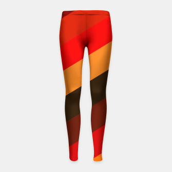 Thumbnail image of Passion Colors Girl's leggings, Live Heroes