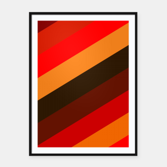 Miniatur Passion Colors Framed poster, Live Heroes