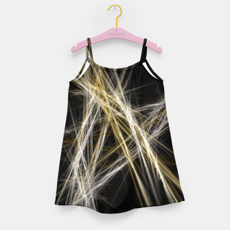 Thumbnail image of Abstract 1 - Gold & Silver Mädchenkleid, Live Heroes