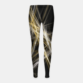 Thumbnail image of Abstract 1 - Gold & Silver Kinder-Leggins, Live Heroes