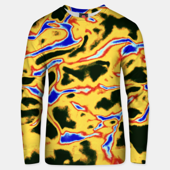 Miniature de image de Yellow and black pattern Unisex sweater, Live Heroes
