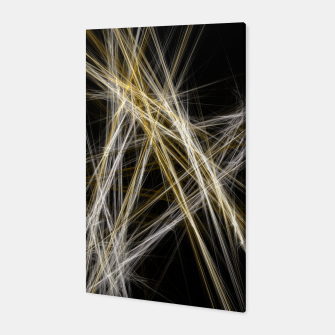 Thumbnail image of Abstract 1 - Gold & Silver Canvas, Live Heroes