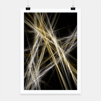 Thumbnail image of Abstract 1 - Gold & Silver Plakat, Live Heroes