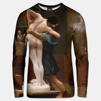 Thumbnail image of Pygmalion and Galatea by Jean Leon Gerome Unisex sweater, Live Heroes
