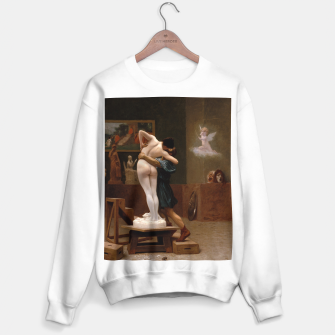 Thumbnail image of Pygmalion and Galatea by Jean Leon Gerome Sweater regular, Live Heroes