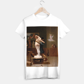 Thumbnail image of Pygmalion and Galatea by Jean Leon Gerome T-shirt regular, Live Heroes