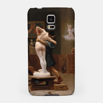 Thumbnail image of Pygmalion and Galatea by Jean Leon Gerome Samsung Case, Live Heroes