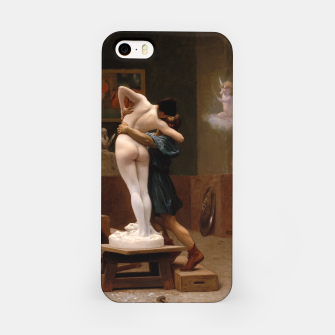 Thumbnail image of Pygmalion and Galatea by Jean Leon Gerome iPhone Case, Live Heroes