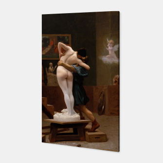 Thumbnail image of Pygmalion and Galatea by Jean Leon Gerome Canvas, Live Heroes