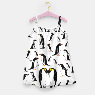 Penguin Pattern Girl's dress thumbnail image