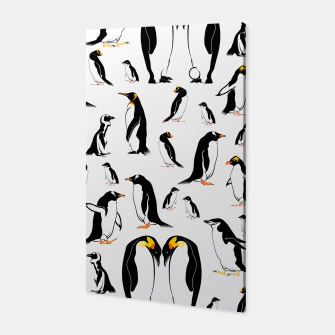 Penguin Pattern Canvas thumbnail image