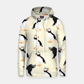 Thumbnail image of Puffin Pattern Hoodie, Live Heroes