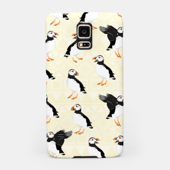 Thumbnail image of Puffin Pattern Samsung Case, Live Heroes