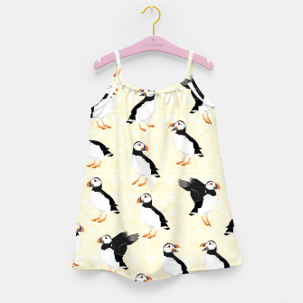 Thumbnail image of Puffin Pattern Girl's dress, Live Heroes