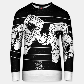 Thumbnail image of Gemini twins astronauts Unisex sweater, Live Heroes