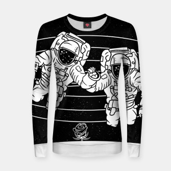 Thumbnail image of Gemini twins astronauts Women sweater, Live Heroes
