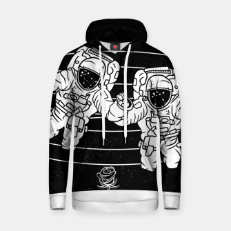 Thumbnail image of Gemini twins astronauts Hoodie, Live Heroes