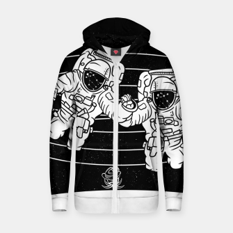 Thumbnail image of Gemini twins astronauts Zip up hoodie, Live Heroes
