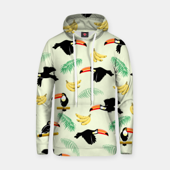 Miniature de image de Toucan Tropical Bird Pattern Hoodie, Live Heroes