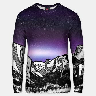 Yosemite Valley Unisex sweater Bild der Miniatur