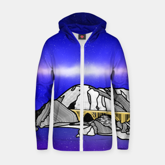 Big Sur Zip up hoodie Bild der Miniatur