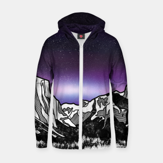 Yosemite Valley Zip up hoodie Bild der Miniatur