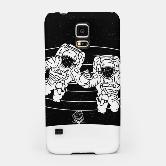Thumbnail image of Gemini twins astronauts Samsung Case, Live Heroes