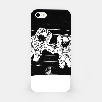 Thumbnail image of Gemini twins astronauts iPhone Case, Live Heroes