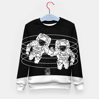 Thumbnail image of Gemini twins astronauts Kid's sweater, Live Heroes