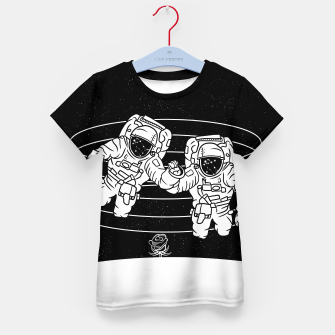 Thumbnail image of Gemini twins astronauts Kid's t-shirt, Live Heroes