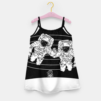 Thumbnail image of Gemini twins astronauts Girl's dress, Live Heroes