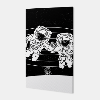 Thumbnail image of Gemini twins astronauts Canvas, Live Heroes