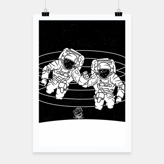 Thumbnail image of Gemini twins astronauts Poster, Live Heroes